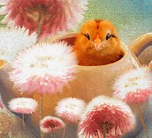 """I Love Spring"" said the baby chick. by Doty"