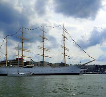 In The Gothenburg Harbour by HELUA