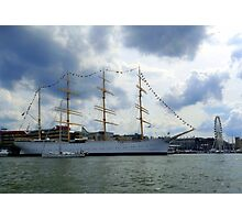 In The Gothenburg Harbour Photographic Print