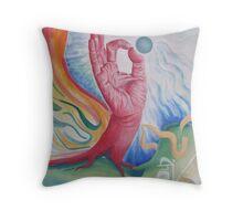 Knowledge (mudra) Throw Pillow