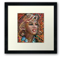 MM Ice Red Framed Print