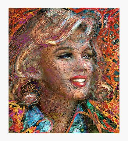 MM Ice Red Photographic Print