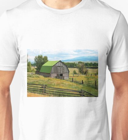 old barn with a new roof T-Shirt