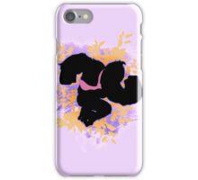 Super Smash Bros. Purple Donkey Kong Silhouette iPhone Case/Skin