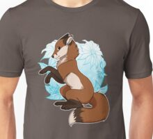 Red Fox Tee - Blue Unisex T-Shirt