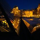Lit-Up Louvre by yaana