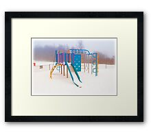 Cold Play Framed Print