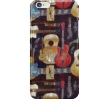 Guitars and Cadillacs and Hillbilly Music iPhone Case iPhone Case/Skin