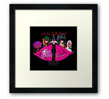 It's Fun To Be Scared Framed Print