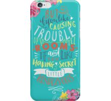Perfect lyrics iPhone Case/Skin