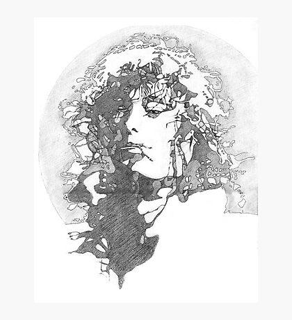 Rock Legend Photographic Print