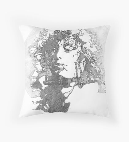 Rock Legend Throw Pillow