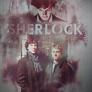 BBC Sherlock Holmes and John Watson Poster &amp; Prints by curiousfashion