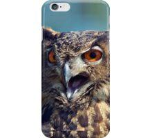 Owl closeup iphone case iPhone Case/Skin