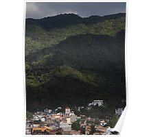 Sierra Madre and Colonia Emiliano Zapata, Puerto Vallarta Poster