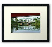 Green Bridge Framed Print