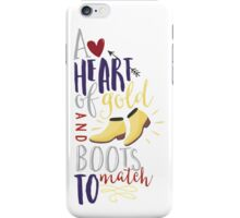 Heart of gold #2 iPhone Case/Skin