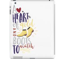 Heart of gold #2 iPad Case/Skin