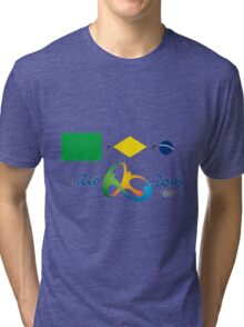 Olympics in Rio 2016, here we are Tri-blend T-Shirt
