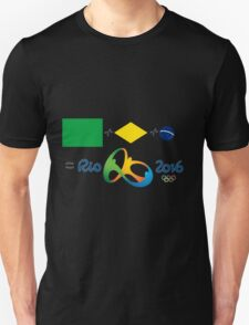 Olympics in Rio 2016, here we are T-Shirt