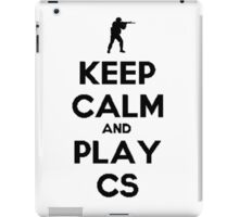 Keep Calm and play CS:GO iPad Case/Skin