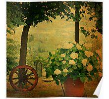 Springtime in Tuscany Poster