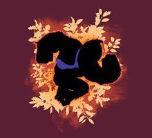 Super Smash Bros. Orange Donkey Kong Silhouette Unisex T-Shirt