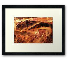 Campfire2 Framed Print