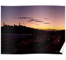 Waverley Sunrise Poster