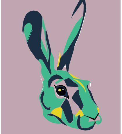 Mr Hare in Pink Sticker