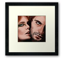 Fey&Ird [What are you staring at?] Framed Print
