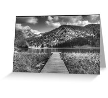 Lac de Vallon Greeting Card