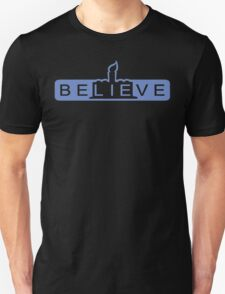 beLIEve blue T-Shirt