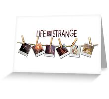 Life is strange - Chloe Greeting Card