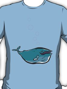 the charming whale T-Shirt