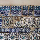 Ancient znik tiles in the inili Camii (Tiled Mosque) by Marjolein Katsma