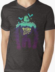 Laputa Robot Mens V-Neck T-Shirt