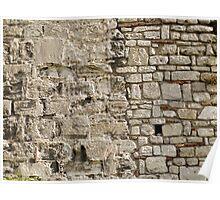 Wall repairs in Yedikule Hisarı (Yedikule Fortress) Poster