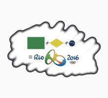 Olympics in Rio 2016, here we are (sfumato) Kids Clothes