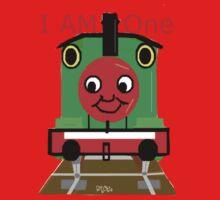 Choo Choo Train I Am One Tshirt One Piece - Long Sleeve