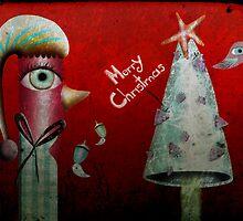 Pinguino de la Navidad by rupydetequila