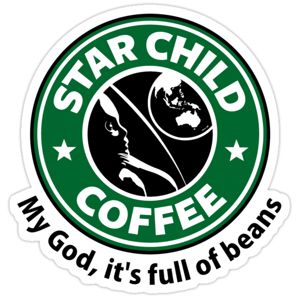 Star Child Coffee by Adho1982