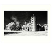 Castle Fraser. Art Print