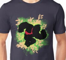 Super Smash Bros. Green Donkey Kong Silhouette Unisex T-Shirt