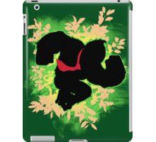 Super Smash Bros. Green Donkey Kong Silhouette iPad Case/Skin