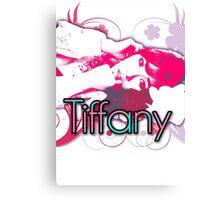 Girls generation (snsd) Tiffany Hwang design Canvas Print