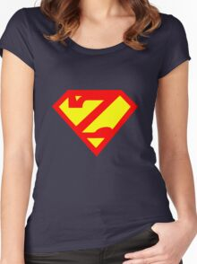 Super Zed Women's Fitted Scoop T-Shirt