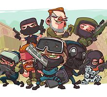 Counter-Strike: Anime by SALSAMAN