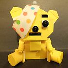 Lego Pudsey Bear. by Livvy Young
