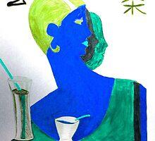 Cocktail hour by Nancy Velasquez